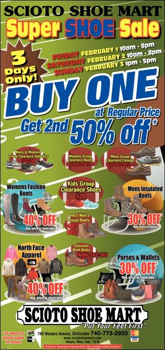 Super Shoe Sale