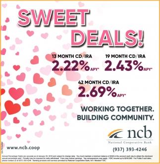 Sweet Deals!