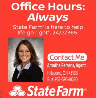 Office Hours: Always